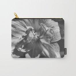 B&W Ballerina Flower Carry-All Pouch