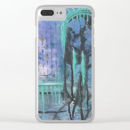 Patina Of Decay Clear iPhone Case