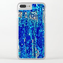Bubbling Waters Clear iPhone Case