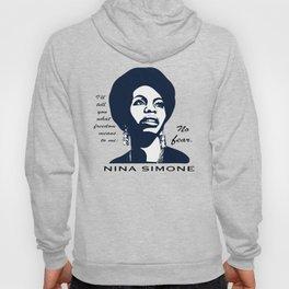 Nina Simone No Fear Hoody
