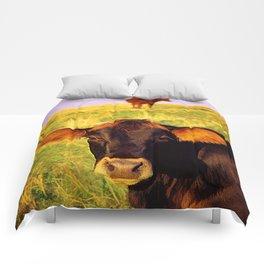 Eat More Chicken Comforters