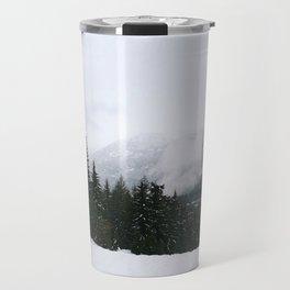 Mist between mountains Travel Mug