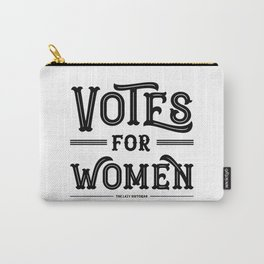 Votes for Women (in black) Carry-All Pouch