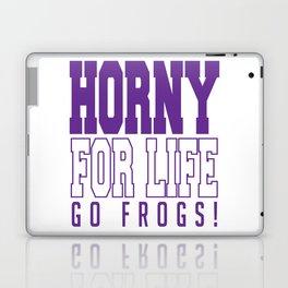 TCU, Horny For Life Laptop & iPad Skin