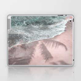 Pink Paradise Beach Laptop & iPad Skin