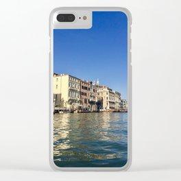 Venetian Waters Clear iPhone Case