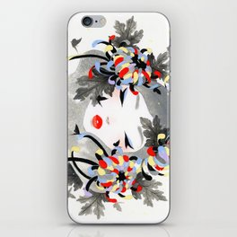 Chrysanthemum Mood iPhone Skin