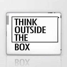 Think outside the box Laptop & iPad Skin