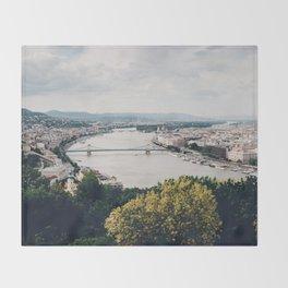Budapest Pano Throw Blanket