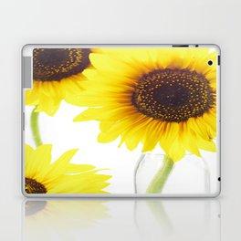 Three Sunflowers Laptop & iPad Skin