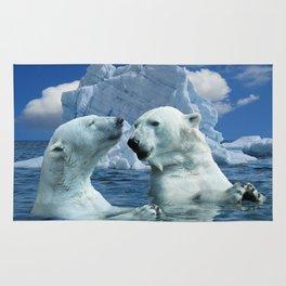 Polar Bears and Sea Rug