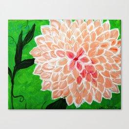 Sweet Dahlia Canvas Print