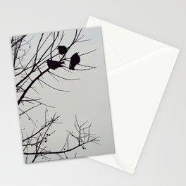 Three birds Stationery Cards
