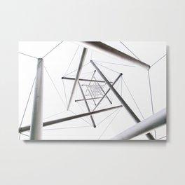Infinite Geometry Metal Print