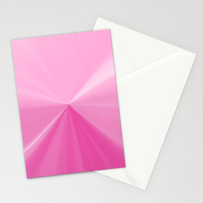 Pink Bubble Gum Pinch Point Stationery Cards