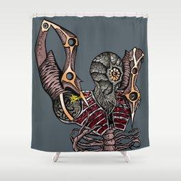 Steampunk Monster Shower Curtain