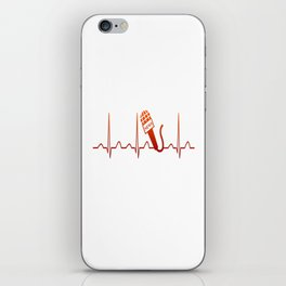NEWSCASTER HEARTBEAT iPhone Skin
