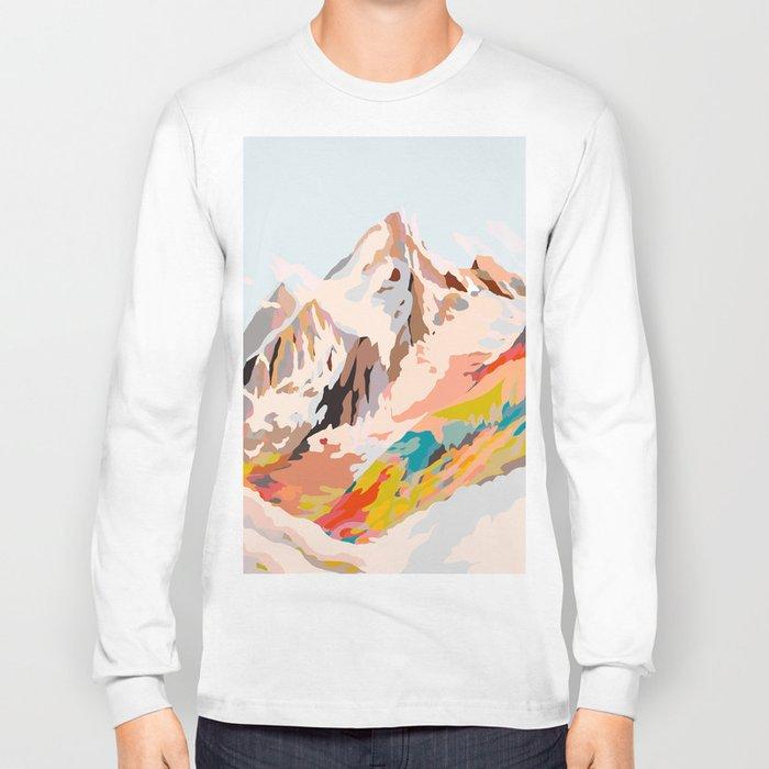 glass mountains Long Sleeve T-shirt