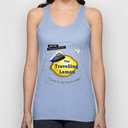 The Travelling Lemon Unisex Tank Top