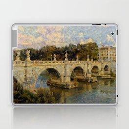 French Impressionistic Arched Bridge Laptop & iPad Skin