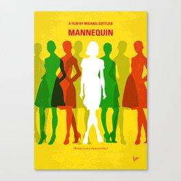 No984 My Mannequin minimal movie poster Canvas Print