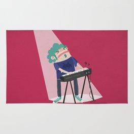 Keyboardist Rug