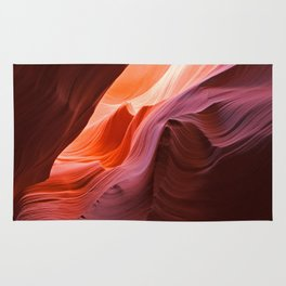 The Waves of Antelope Canyon Rug