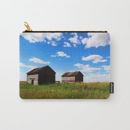 Barns on the Canadian Prairie Carry-All Pouch