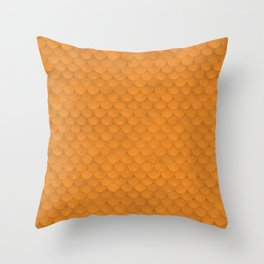 Aquaman Scales Throw Pillow