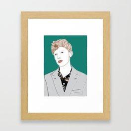 King Krule / Zoo Kid Framed Art Print