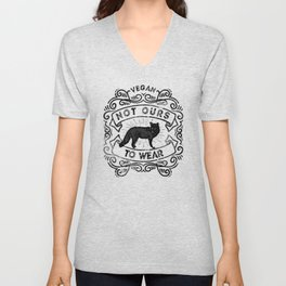 Not Ours to Wear Vegan Statement Unisex V-Neck