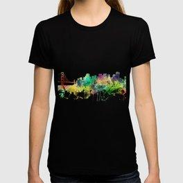 San Francisco, California Skyline SP T-shirt