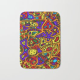 Abstract #416 Bath Mat