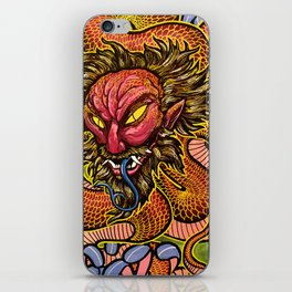 Zhulong Dragon iPhone Skin