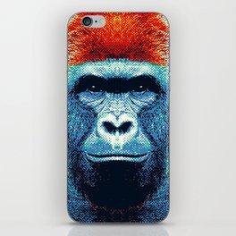 Gorilla -  Colorful Animals iPhone Skin