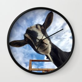 Stella the Goat Wall Clock