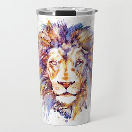 Lion Head Travel Mug
