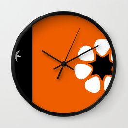 Northern Territories Flag Wall Clock
