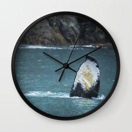 Tail Fluke Wall Clock
