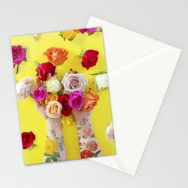 Everything is Sunshine + Roses Stationery Cards