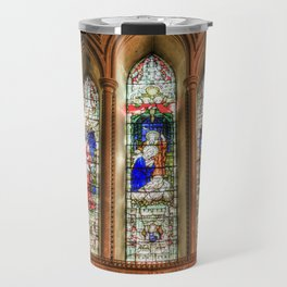 Stained Glass Windows Travel Mug