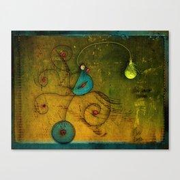 Lampbird Canvas Print