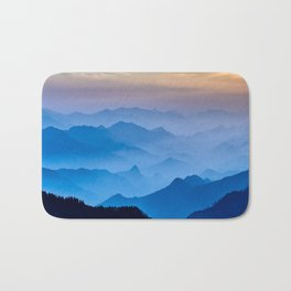 Mountains 11 Bath Mat