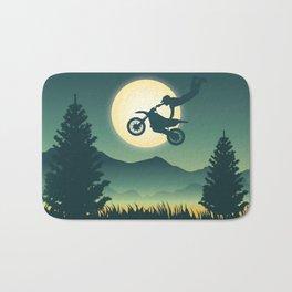 Moon Rider Bath Mat
