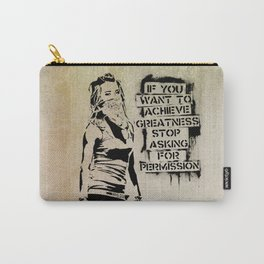 Banksy, Greatness Carry-All Pouch