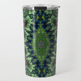 Fractal Rhombus Travel Mug