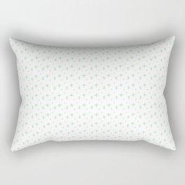Delicate Flowers Rectangular Pillow