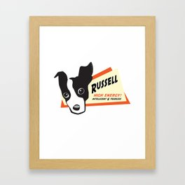 russell 2 Framed Art Print
