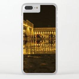 Golden Venice . Clear iPhone Case