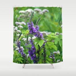 Green Summer Dream Shower Curtain